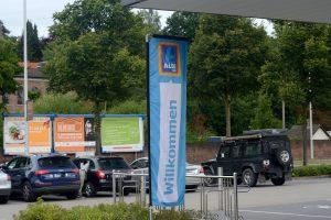 Plakataktion der BŸrgerEnergieGenossenschaft Ruhr-West September 2016
